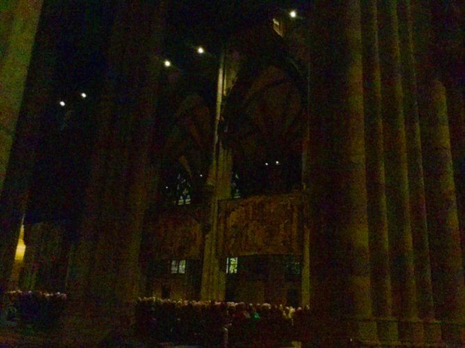 Kölner Dom Orgelkonzert Orgelmeister Winfried Bönig