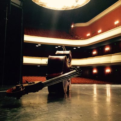 Orchester Stadttheater Hagen Konzertsaal Poetry Slammer Quichotte Meike Krautscheid