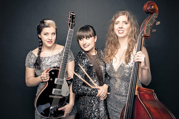Glitter & Gold Trio mit Saxophon
